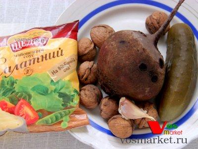 Ингредиенты свекольного салата