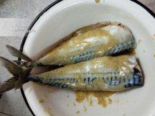 Фото приготовления Скумбрия в духовке