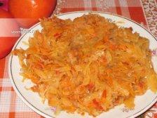 Фото к восьмому шагу приуготовлению рецепта Тушеная капуста