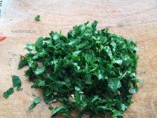 Фото к третьему шагу приуготовлению рецепта Салат из пекинской капусты