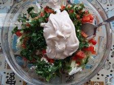 Фото приготовления Салат из пекинской капусты