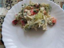 Фото к седмому шагу приуготовлению рецепта Салат из пекинской капусты