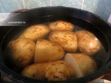 Фото приготовления Отварной картофель в мундире