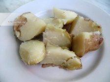 Фото к пятому шагу приуготовлению рецепта Отварной картофель в мундире