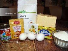 Фото приготовления Домашний торт из коржей