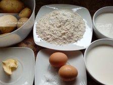 Фото приготовления Шаньги с картошкой