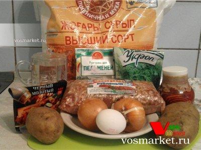 Ингредиенты для приготовления узбекского ханум