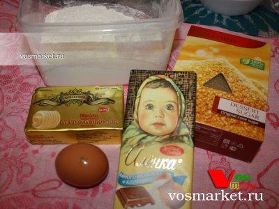 Ингредиенты для приготовления печенье