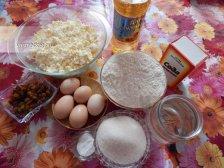 Фото приготовления Блинчики с творогом и изюмом
