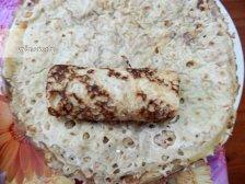 Фото к блюде Блинчики с творогом и изюмом