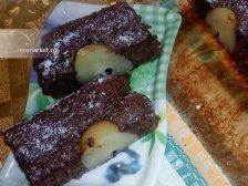 Фото к седмому шагу приуготовлению рецепта Пирог с грушей