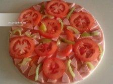 Фото приготовления Пицца на готовом корже