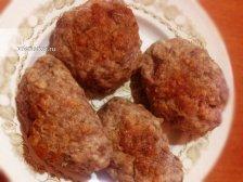 Фото к шестому шагу приуготовлению рецепта Мясные котлеты с начинкой