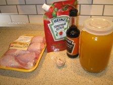 Фото к блюде Куриный голень в духовке