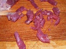 Фото приготовления Бефстроганов из говядины