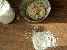 Фото к шестому шагу приуготовлению рецепта Лаваш домашний на сковородке