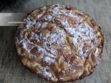 Фото к одиннадцатому шагу приготовлению рецепта Пирог  'Шарлотка' с яблоками