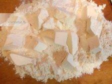 Фото к первому шагу приуготовлению рецепта Слойки из слоеного теста