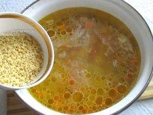 Фото к шестому шагу приуготовлению рецепта Куриный суп для детей