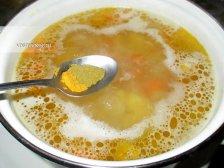 Фото к седмому шагу приуготовлению рецепта Куриный суп для детей