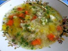 Фото к девятому шагу приуготовлению рецепта Куриный суп для детей