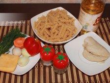 Фото к первому шагу приуготовлению рецепта Макароны с куриной филе