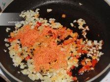 Фото к пятому шагу приуготовлению рецепта Макароны с куриной филе