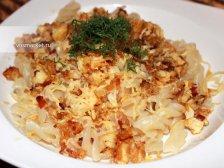 Фото к восьмому шагу приуготовлению рецепта Макароны с куриной филе
