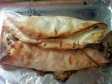 Фото к девятому шагу приуготовлению рецепта Домашняя лазанья