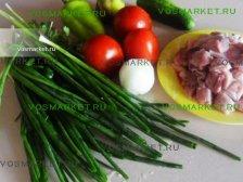 Зелень и овощи для рецепта