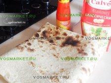 Лаваш и соусы для рецепта