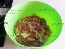Фото к второму шагу приуготовлению рецепта Свинина в лаваше