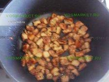 Фото к шестому шагу приуготовлению рецепта Свинина в лаваше