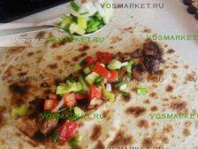 Фото к девятому шагу приуготовлению рецепта Свинина в лаваше