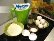 Фото к блюде Вкусные блины на молоке