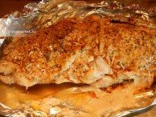 Фото к восьмому шагу приуготовлению рецепта Рулет из свинины в духовке
