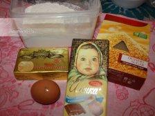 Фото к блюде Печенье с кусочками шоколада