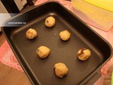Фото приготовления Печенье с кусочками шоколада