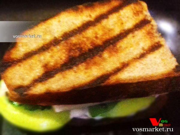 Фото готового блюда: Горячие бутерброды