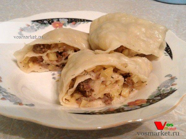 Фото готового блюда: Ханум - узбекский рецепт