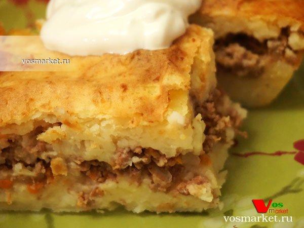 Фото готового блюда: Запеканка картофельная с фаршем