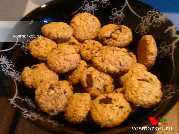 Фото готового блюда: Печенье из овсяных хлопьев