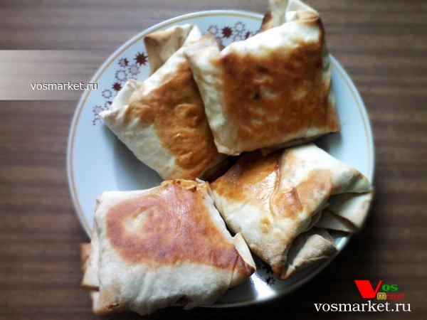 Фото готового блюда: Бурито в домашних условиях