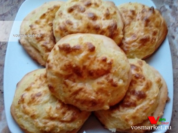 Фото готового блюда: Шаньги с картошкой