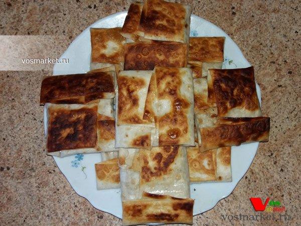 Фото готового блюда: Начинки для лаваша