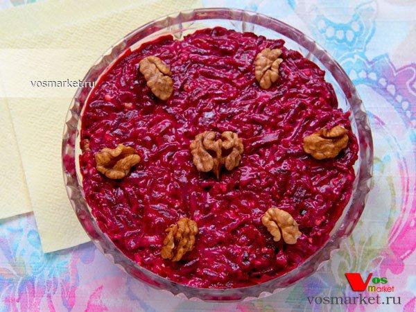 Фото готового блюда: Салат из свеклы