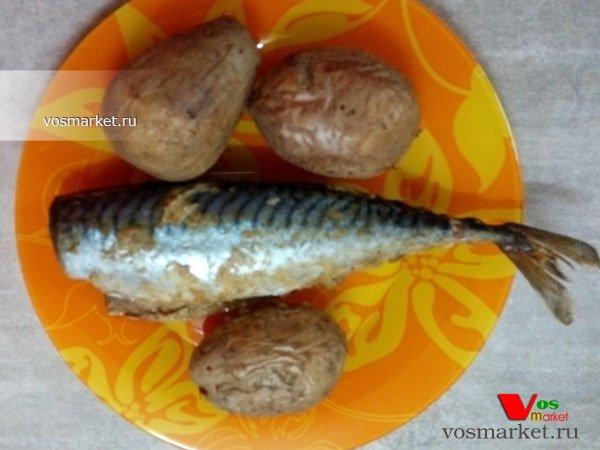 Фото готового блюда: Скумбрия в духовке