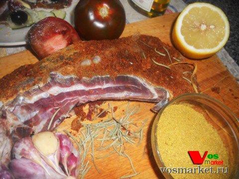 Фото готового блюда: Вяленая баранина