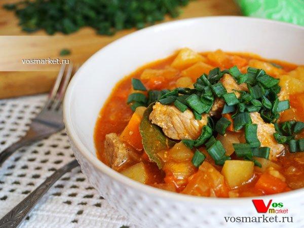 Фото готового блюда: Жаркое из свинины