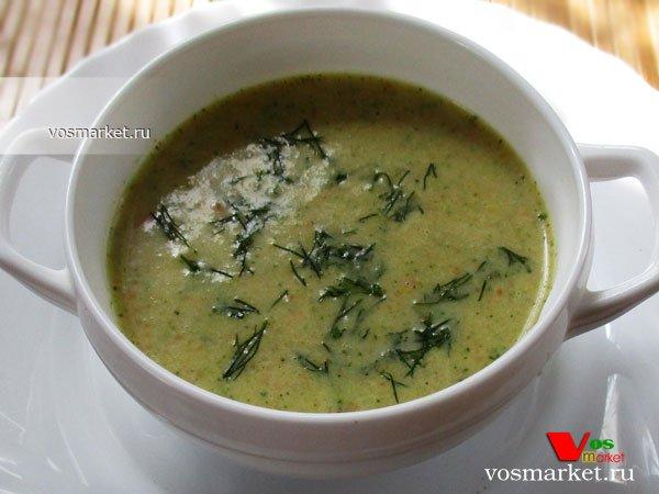 Фото готового блюда: Суп из брокколи
